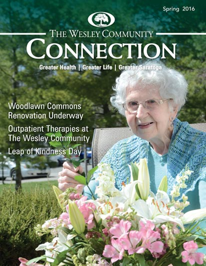 The Wesley Community Connection Magazine cover