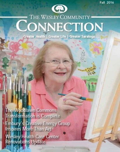 The Wesley Community Connection cover - Fall 2016