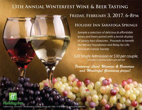 3th Annual Winterfest Wine & Beer Tasting