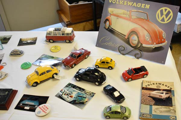 Model car show at Wesley Health Care Center.