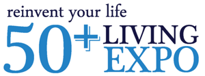 50+ Living Expo graphic.