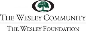 Wesley Foundation Logo. It features and oval with an oak tree within it.