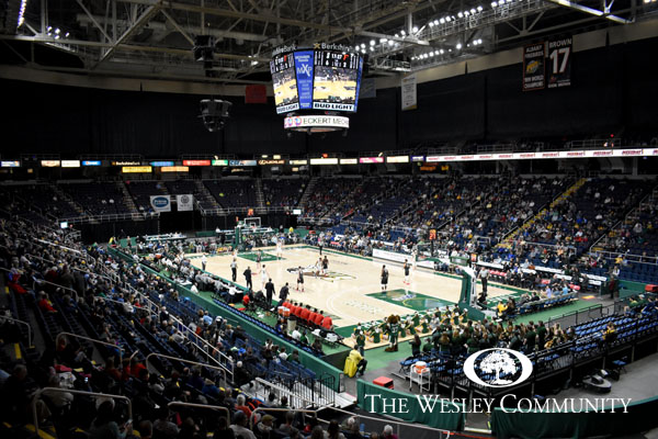 Siena game at the Times Union Center.