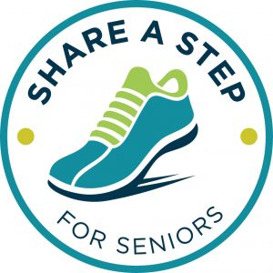 Share a Step for Seniors logo