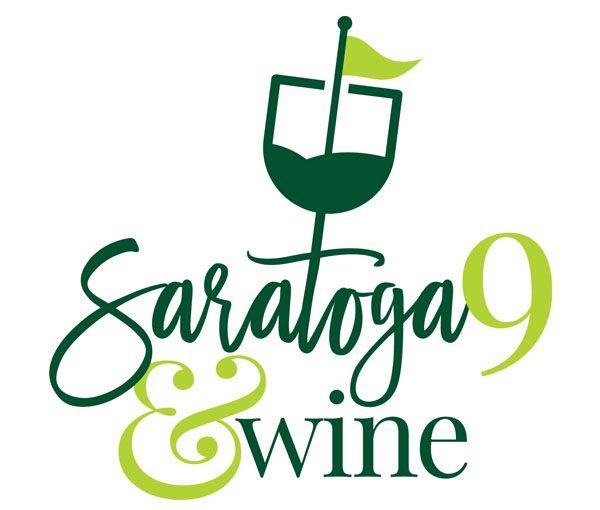 Saratoga 9 and Wine logo