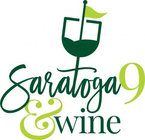 Logo for Saratoga 9 and Wine Golf Fundraiser