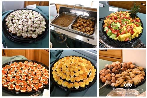 Food platters.