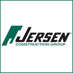 Jersen Construction logo for Gold Sponsorship.