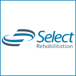 Select Rehabilitation logo for Gold Sponsorship.