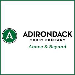 Adirondack Trust Company logo for sponsorship of Saratoga Nine and Wine.
