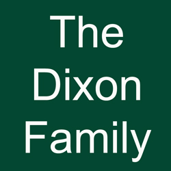 The Dixon Family logo for sponsorship of Saratoga Nine and Wine.