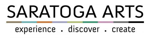 Logo for the Saratoga Arts.