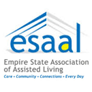 The logo for the Empire State Association of Assisted Living. ESAAL.