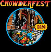 The logo for Saratoga Chowderfest 2020.