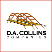 The logo for D.A. Collins Co.