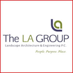 THe LA Group logo - Landscape Architects
