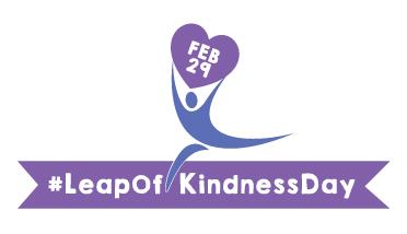 Leap of Kindness logo.