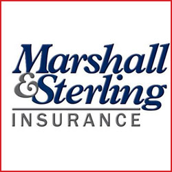 Marshall and Sterling Insurance logo.