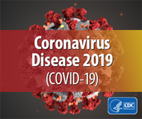 Graphic that reads Coronavirus Disease 2019 (COVID-19)