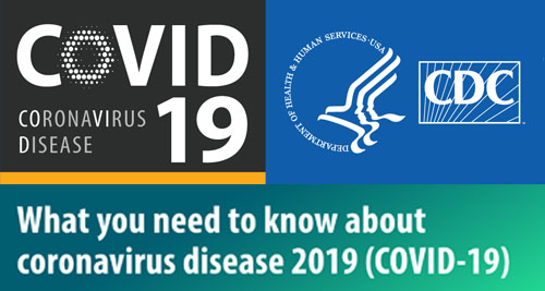 A What You Need To Know graphic for the Coronavirus