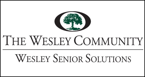 The logo for Wesley Senior Solutions Home Care