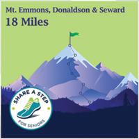 Mt. Emmons, Donaldson and Seward Challenge - 18 miles