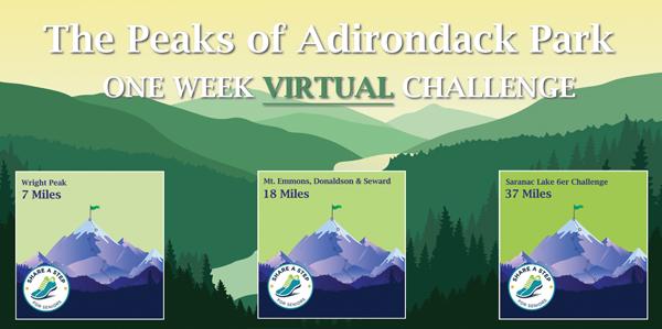 peaks of Adirondack Park Challenge poster