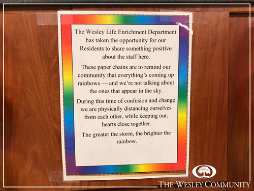 An announcement about the 518 Rainbow Project.