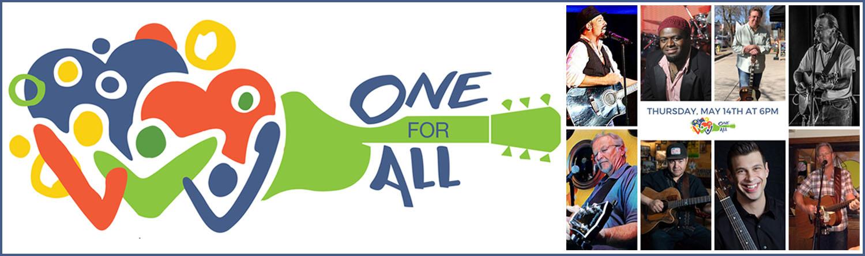 One for All Saratoga logo
