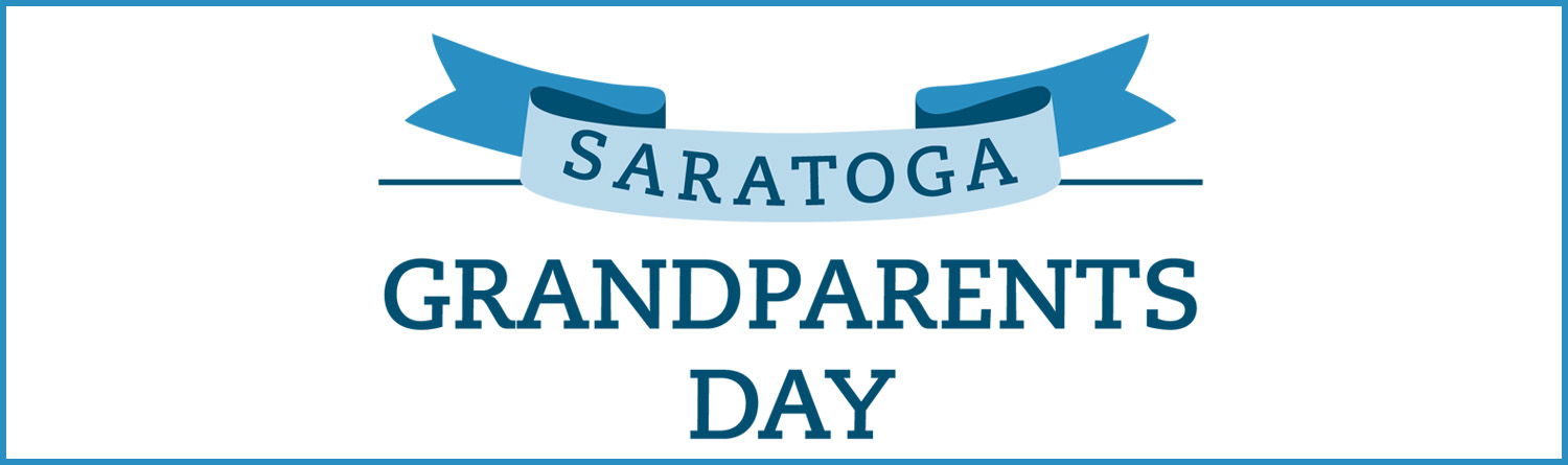 Saratoga Grandparents Day logo