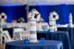 lighthouse table decoration