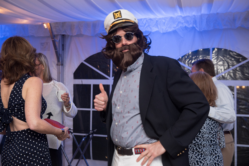 man with sailor costume on