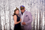 smiling couple with sailor hats