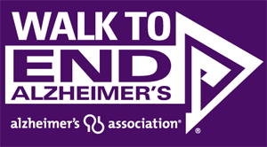 THe Walk to End Alzheimer's logo.