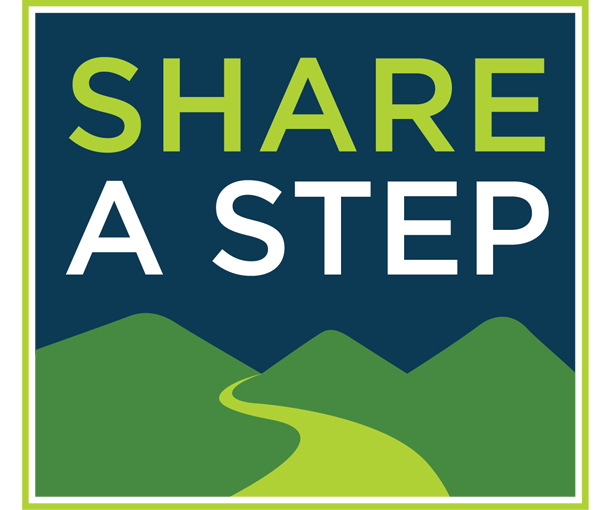 The Share a Step logo