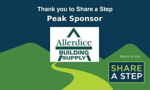 Peak Sponsor Allerdice Building Supply