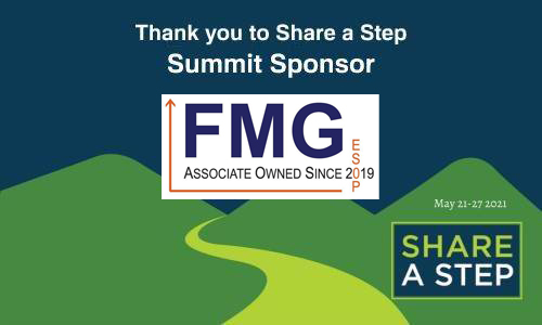 Share a Step sponsorship by Fort Miller Group