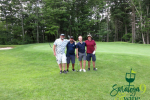 group of golfers
