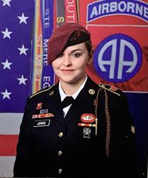 Abigail Jenks - Wesley's featured artist.