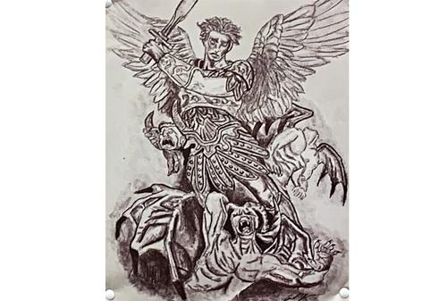 sword-mythology drawing