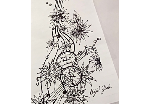 musictime drawing